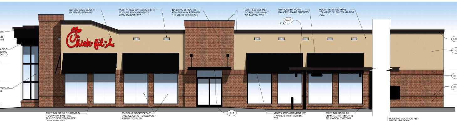 Chick-fil-A Expansion - DP-18-005 | Plainfield, IN