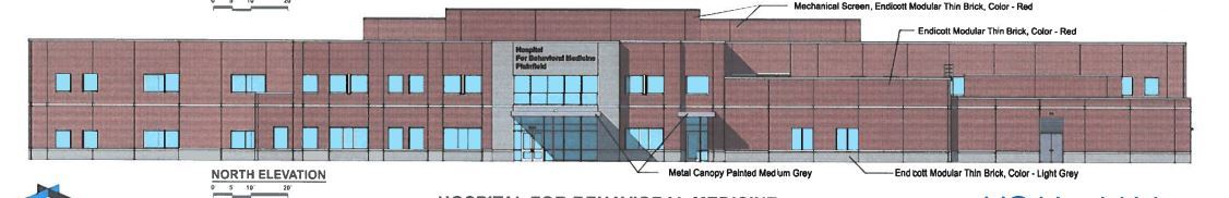 Rendering of the Behavioral Health Building