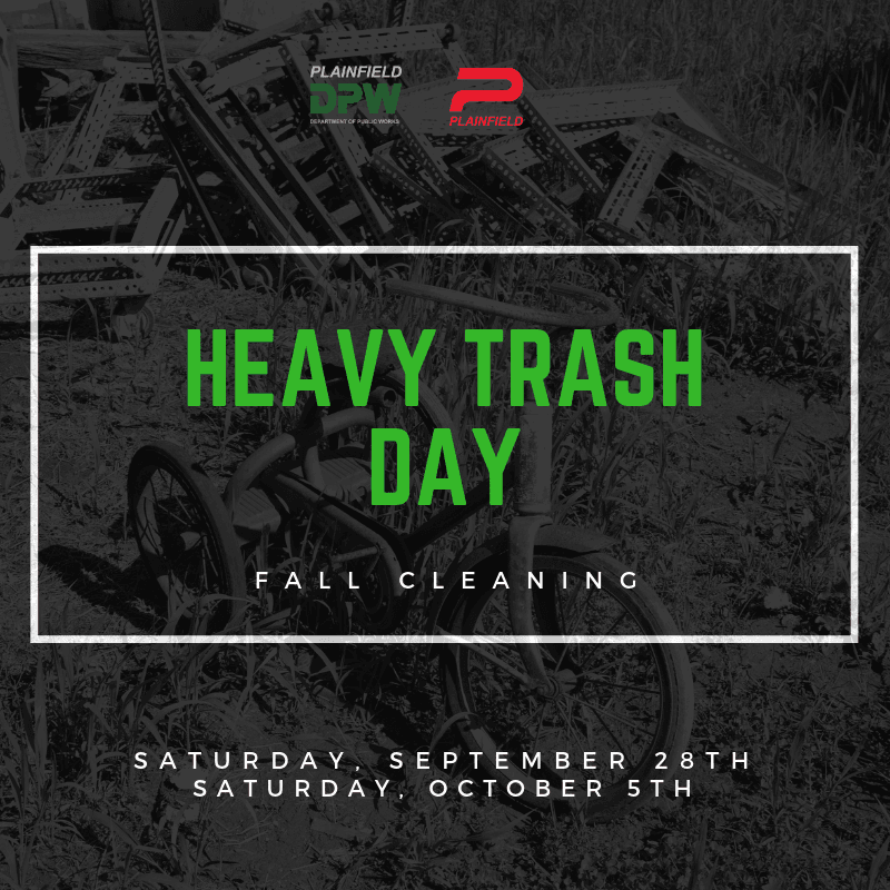 Fall Heavy Trash Day Dates