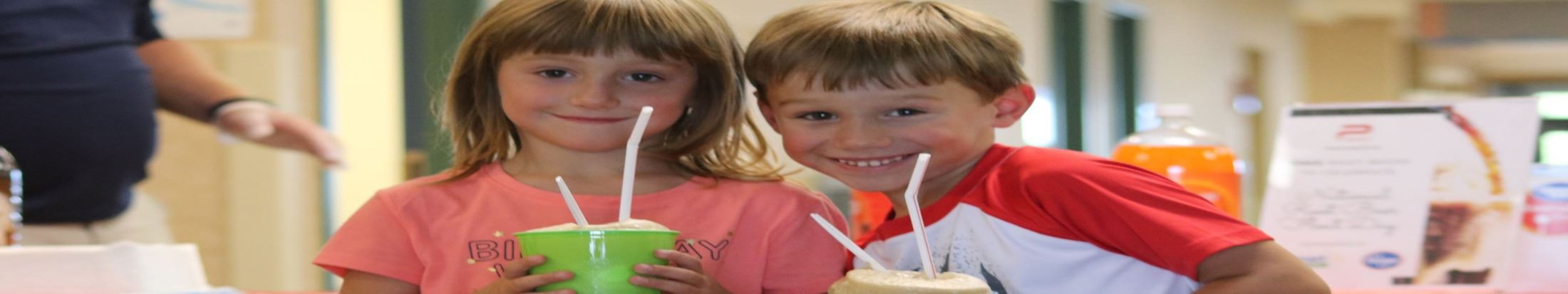 Kids at the Towns Rootbeer Float Day