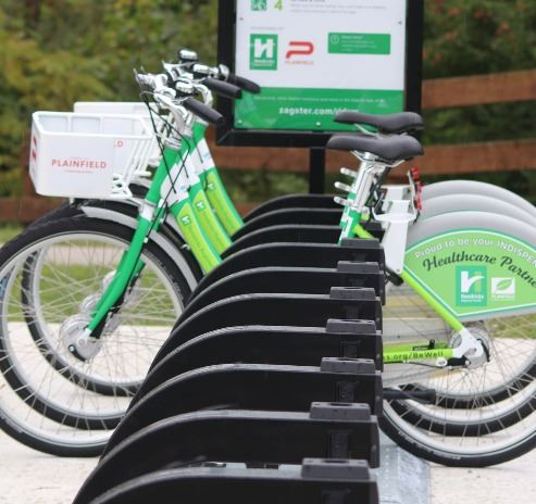 BeWell Bikeshare Program Bikes