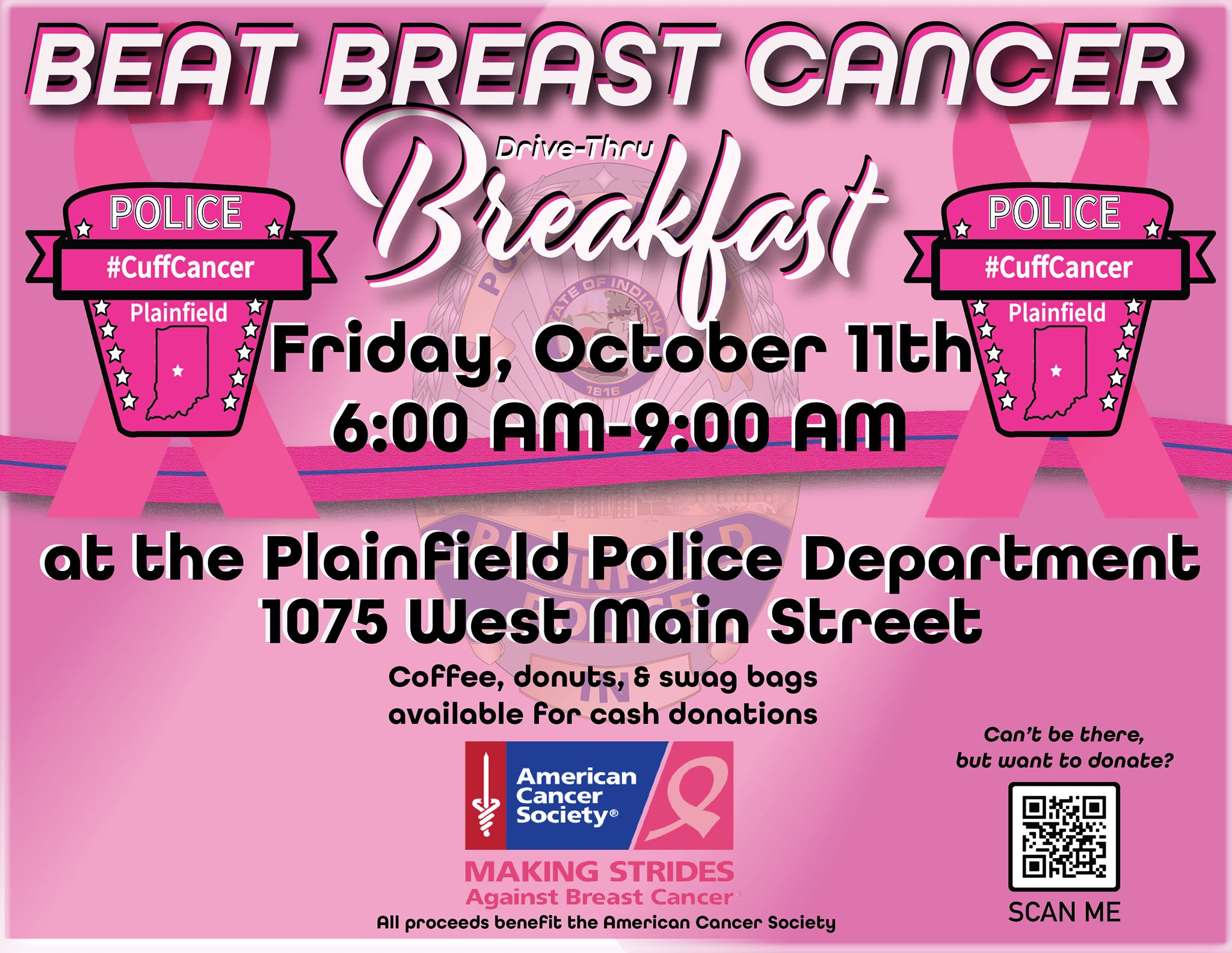PPD's Beat Breast Cancer Drive-Thru Breakfast