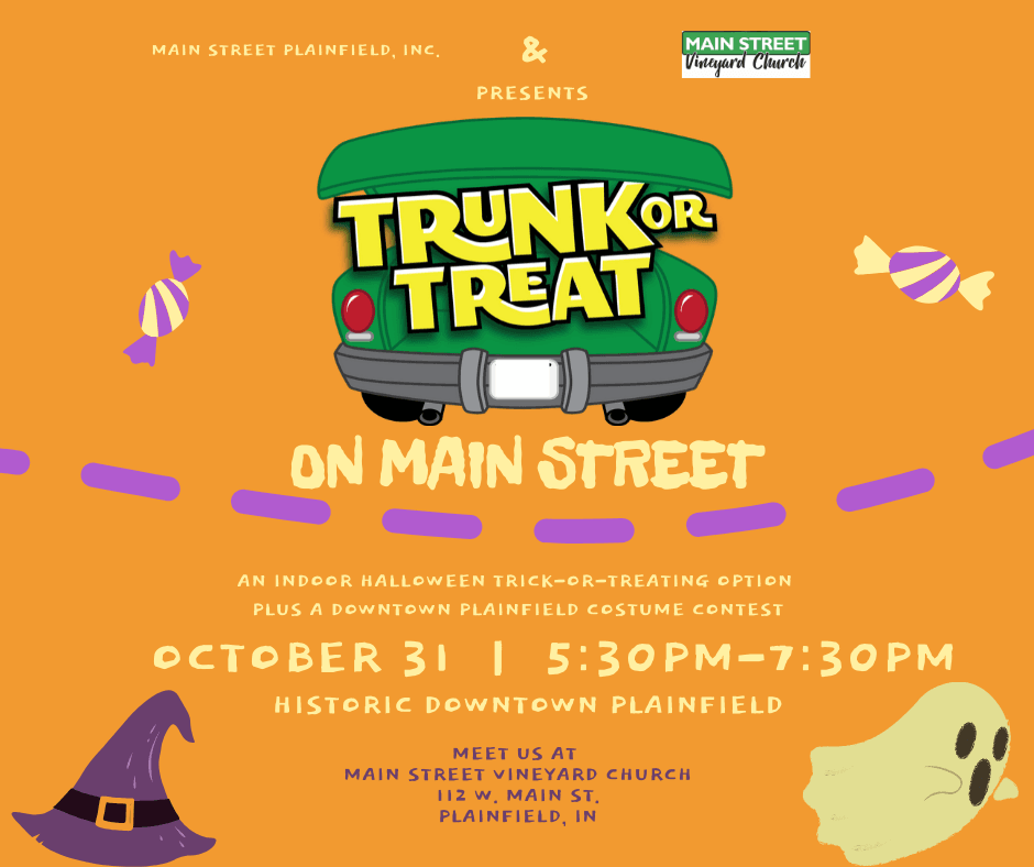 Trunk or Treat on Main Street Graphic