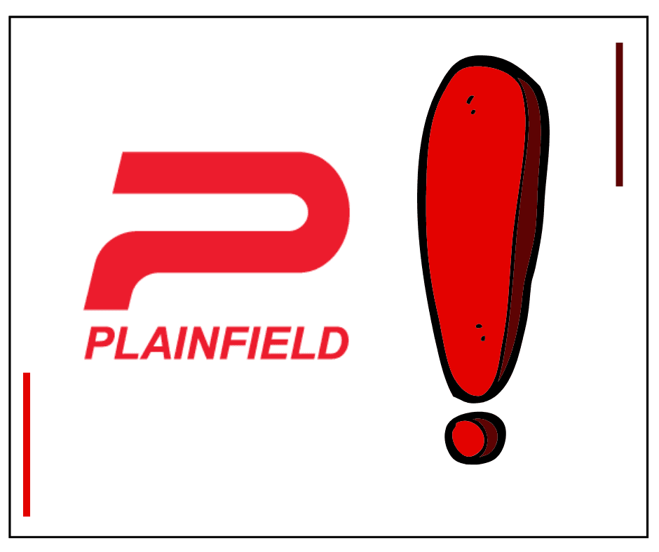 Attention Plainfield Graphic